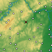 Nearby Forecast Locations - Bad Sobernheim - Mapa