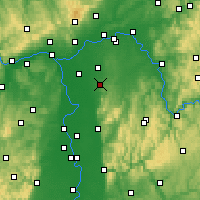 Nearby Forecast Locations - Geisenheim - Mapa
