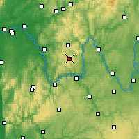 Nearby Forecast Locations - Spessart - Mapa