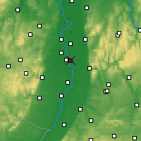 Nearby Forecast Locations - Neuostheim - Mapa