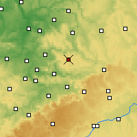 Nearby Forecast Locations - Kaisersbach - Mapa
