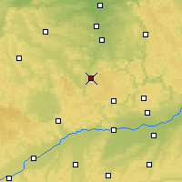 Nearby Forecast Locations - Weißenburg - Mapa