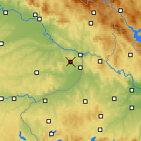 Nearby Forecast Locations - Fürstenzell - Mapa