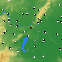 Nearby Forecast Locations - Spitzerberg - Mapa