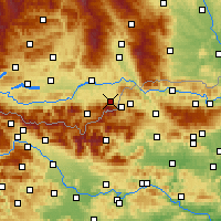Nearby Forecast Locations - Feistritz ob Bleiburg - Mapa