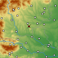 Nearby Forecast Locations - Bad Gleichenberg - Mapa