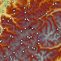 Nearby Forecast Locations - Idalpe - Mapa