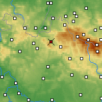 Nearby Forecast Locations - Liberec - Mapa
