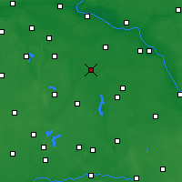 Nearby Forecast Locations - Inowrocław - Mapa