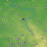 Nearby Forecast Locations - Częstochowa - Mapa