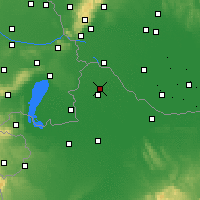 Nearby Forecast Locations - Mosonmagyaróvár - Mapa