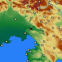 Nearby Forecast Locations - Nova Gorica - Mapa