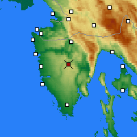 Nearby Forecast Locations - Pazin - Mapa