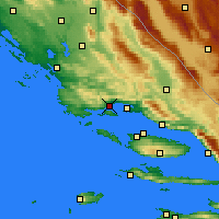 Nearby Forecast Locations - Kaštela - Mapa