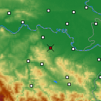 Nearby Forecast Locations - Gradačac - Mapa