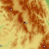 Nearby Forecast Locations - Miercurea Ciuc - Mapa