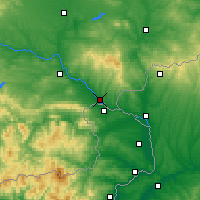 Nearby Forecast Locations - Svilengrad - Mapa
