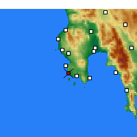 Nearby Forecast Locations - Modona - Mapa