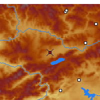 Nearby Forecast Locations - Elazığ - Mapa