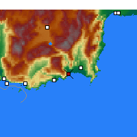 Nearby Forecast Locations - Finike - Mapa