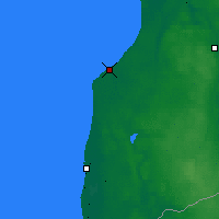 Nearby Forecast Locations - Pāvilosta - Mapa