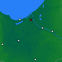 Nearby Forecast Locations - Riga - Mapa