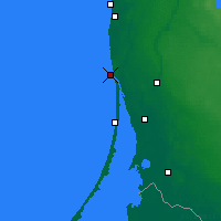 Nearby Forecast Locations - Klaipėda - Mapa