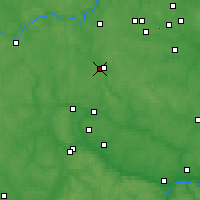Nearby Forecast Locations - Naro-Fominsk - Mapa