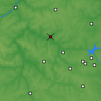 Nearby Forecast Locations - Tula - Mapa