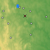 Nearby Forecast Locations - Ekaterimburgo - Mapa