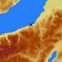 Nearby Forecast Locations - Bábushkin - Mapa
