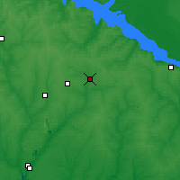Nearby Forecast Locations - Komissarovka - Mapa