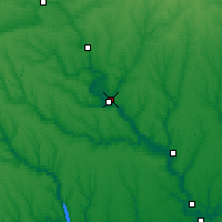 Nearby Forecast Locations - Voznesensk - Mapa