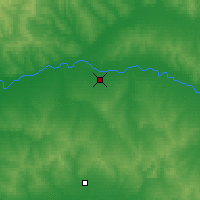 Nearby Forecast Locations - Oremburgo - Mapa