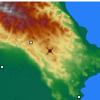 Nearby Forecast Locations - Qobustan - Mapa