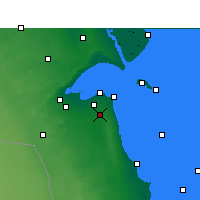 Nearby Forecast Locations - Kuwait - Mapa