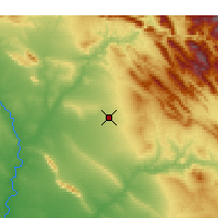 Nearby Forecast Locations - Erbil - Mapa
