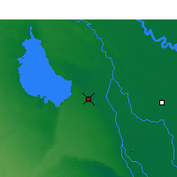 Nearby Forecast Locations - Kerbala - Mapa