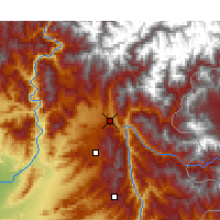 Nearby Forecast Locations - Balakot - Mapa