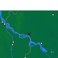 Nearby Forecast Locations - Rajshahi - Mapa