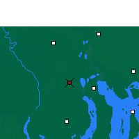 Nearby Forecast Locations - Barisal - Mapa