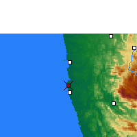 Nearby Forecast Locations - Colombo - Mapa