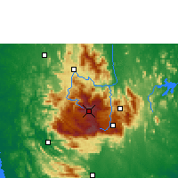 Nearby Forecast Locations - Nuwara Eliya - Mapa