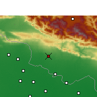 Nearby Forecast Locations - Pipara Simara - Mapa