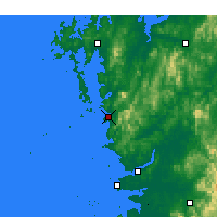 Nearby Forecast Locations - Boryeong - Mapa