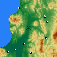 Nearby Forecast Locations - Takikawa - Mapa