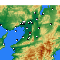 Nearby Forecast Locations - Yao - Mapa