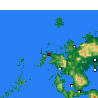 Nearby Forecast Locations - Hirado - Mapa