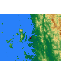 Nearby Forecast Locations - Myeik - Mapa