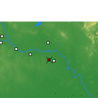Nearby Forecast Locations - Roi Et - Mapa